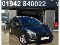 2013/63-PEUGEOT 3008 CROSSOVER 1.6HDI ( 115BHP) FAP ACTIVE II 6SP 5DR DIESEL MPV