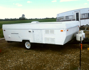 Tent Trailer with rare slide out - $5,300 - Gorgeous!
