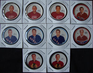 1960-61 SHIRRIFF HOCKEY COINS