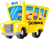 Pick up and drop off with childcare