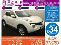 2013 NISSAN JUKE 1.5 DCI ACENTA PREMIUM GOOD BAD CREDIT CAR FINANCE AVAILABLE