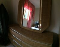 Dresser, chest and nightstand