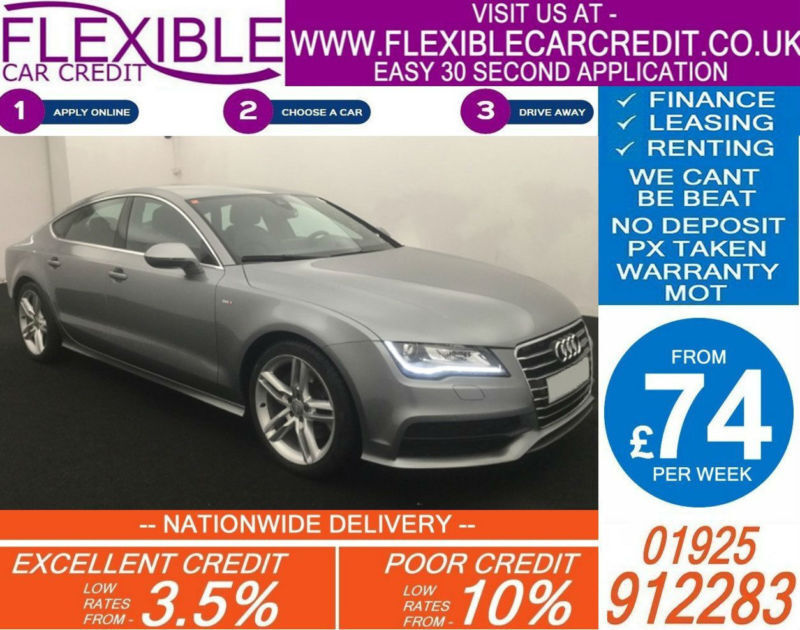 2011 AUDI A7 3.0 TDI QUATTRO S-LINE GOOD / BAD CREDIT CAR FINANCE AVAILABLE