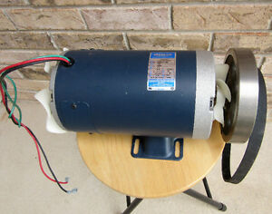 2.3HP LEESON Heavy Duty DC Electic Motor 120V 4000rpm
