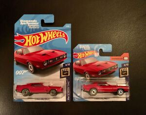 Hot Wheels '71 Mustang Mach 1 - 007 Diamonds Are Forever