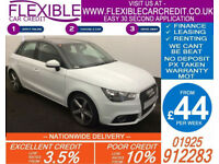 2013 AUDI A1 SPORTBACK 1.6 TDI SPORT GOOD / BAD CREDIT CAR FINANCE AVAILABLE