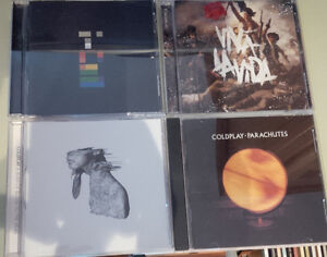 Coldplay CD and DVD $5 Each