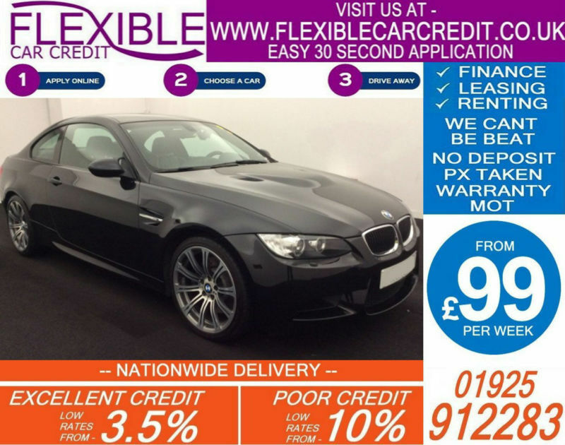 2011 BMW M3 4.0L SEMI AUTO GOOD / BAD CREDIT CAR FINANCE AVAILABLE