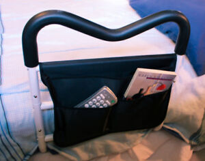 Bed Rail with Pouch - add to ANY size bed