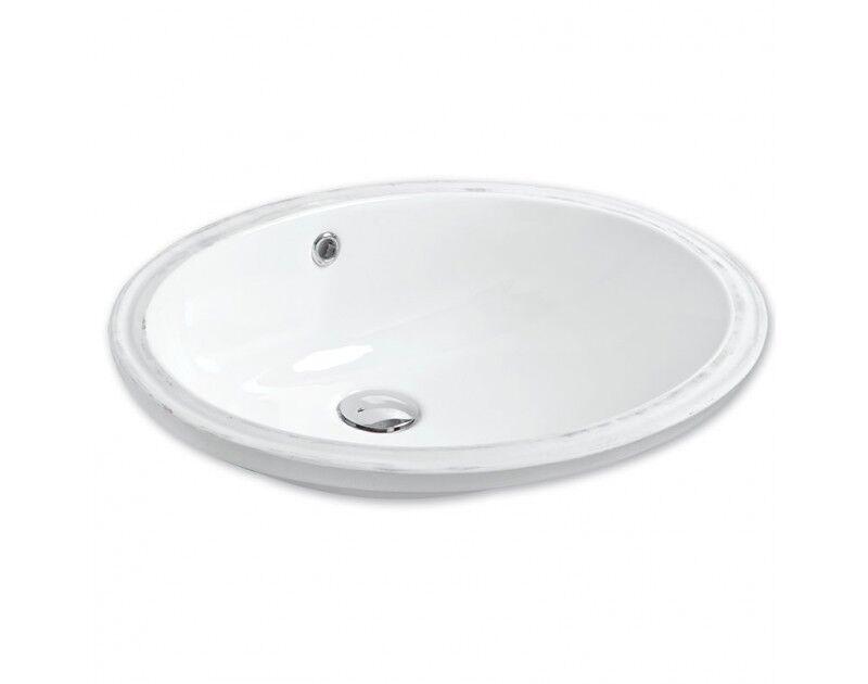 Design Keramik Unterbauwaschbecken  Waschbecken Ohne Hahnloch 43x55 Ohne Zubehör