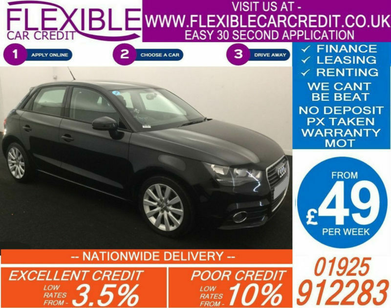 2013 AUDI A1 SPORTBACK 1.4 TFSI SPORT GOOD / BAD CREDIT CAR FINANCE AVAILABLE