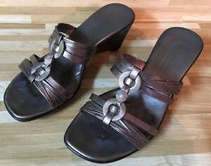 Sandale dorée (Made in Italy)