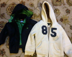 Toddler/kids Tommy Hillfiger jacket and sweater, LIKE NEW
