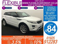 2012 RANGE ROVER EVOQUE 2.2 SD4 DYNAMIC GOOD / BAD CREDIT CAR FINANCE AVAILABLE