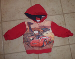 Lightning McQueen spring/fall coat, size 18m, exellent condition