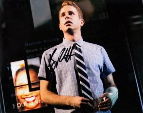 BEN PLATT.. Dear Evan Hansen's Tony Award Winner (Broadway) SIGNED