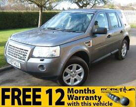 Land Rover Freelander 2 2.2Td4 GS AUTOMATIC 2007 57 reg with 75k miles