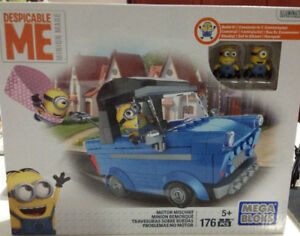 Mega Bloks/Construx Despicable Me Minions Building Sets