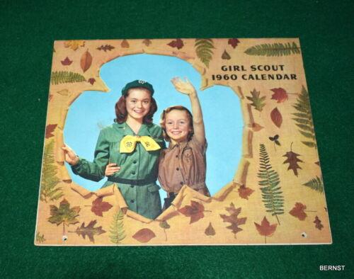VINTAGE GIRL SCOUT - 1960 GIRL SCOUT CALENDAR