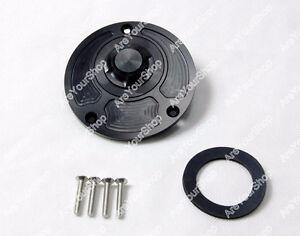 ✪ Fuel Gas Cap Yamaha R1 R6 FZ YZF FZR XJR Black . NEW  ✪