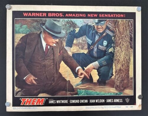 Them Original Lobby Card - Whitmore Arness Giant Ants Sci-Fi *Hollywood Posters*