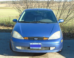 2003 Ford Focus ZX5 Hatchback (LOW KM - AS IS - $1300 OBO)
