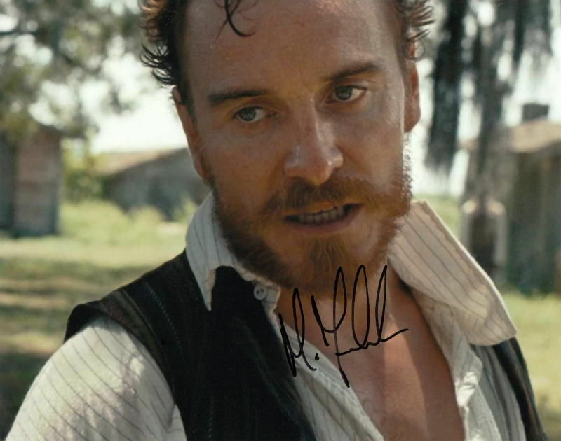 MICHAEL FASSBENDER.. 12 Years a Slave (Oscar Hopeful) SIGNED