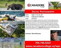 Digital Photography, Canadore College, Parry Sound