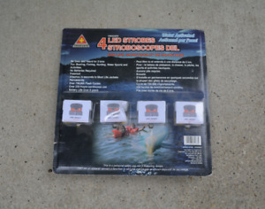 TREKSAFE 4 LED Strobe for Life Jacket Water Activated NEW in pkg
