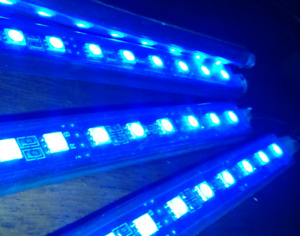 RGB LED car light bar kit
