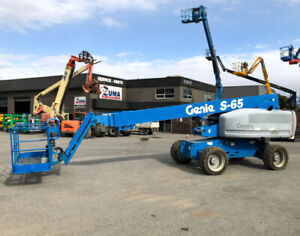 2007 Genie S65 Boom Lift For Sale (JLG 660SJ) - Finance $990 mo*
