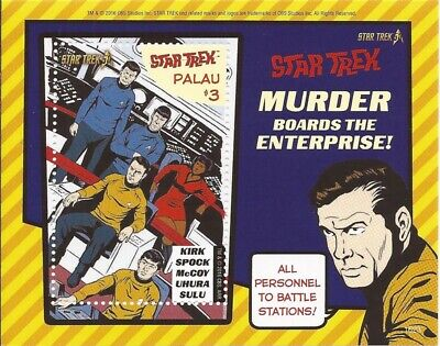 Palau - 2016 Star Trek 50th Anniversary - Souvenir Sheet - 16D-100