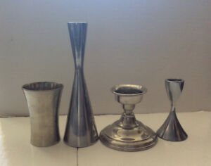 VARIOUS CANDLE HOLDERS