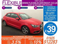 2011 AUDI A1 1.6 TDI SPORT GOOD / BAD CREDIT CAR FINANCE AVAILABLE