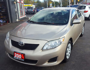 2009 Toyota Corolla CE Sedan 2 YEAR WAR