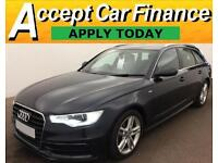 Audi A6 Avant 2.0TDI ( 177ps ) ( C7 ) 2012MY S Line FROM £72 PER WEEK !