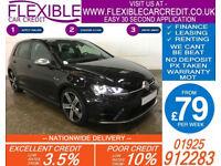 2014 VW GOLF R 2.0 TSI 4X4 DSG GOOD / BAD CREDIT CAR FINANCE AVAILABLE