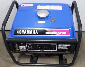 Yamaha Generator EF2600