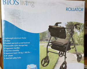 BIOS LIVING ROLLATOR WALKER