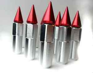 Spiked Tuner Lug Nuts 12x1.5 and 12x1.25mm