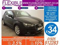 2011 AUDI A1 1.6 TDI SPORT GOOD / BAD CREDIT CAR FINANCE AVAILABLE