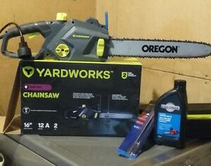 16 In Yardworks Electric Chainsaw 80.00