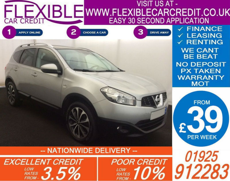 2011 NISSAN QASHQAI+2 2.0 DCI N-TEC GOOD / BAD CREDIT CAR FINANCE AVAILABLE