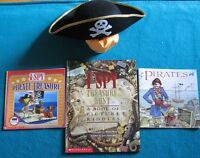 Pirate Books and a Hat to Read them with