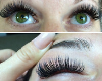 Become a Certified Lash Technician in your area. Course/Training