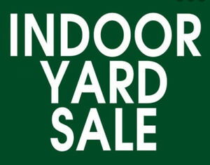 Indoor Yard Sale!!