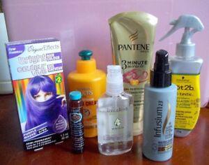 Lot de plusieurs produit pour cheveux