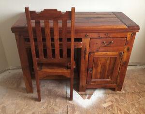 Re-claimed Wood Desk