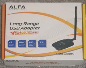 Alfa AWUS036NHA 802.11n Wireless USB Adapter Atheros chip AR9271L + Su