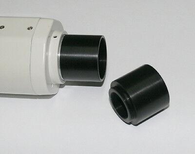 "ScopeStuff #C2B1 C-Mount to 1.25"" Barrel Adapter Telescope Astrophotography"